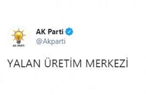 AKP'den 'yalan üretim merkezi' videosu: Misvak ekibine mi yaptırmışlar?