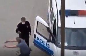 Evinin önünde tek başına araba yıkayan vatandaşa ceza