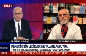 Emre Kongar: Sedat Peker'in Hürriyet açıklaması başka bir skandalı gösterdi