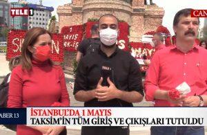 Arzu Çerkezoğlu ve Erkan Baş TELE1'e konuştu: AKP pandeminin yükünü işçi sınıfına yükledi