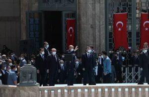 Taksim Camii açıldı, Erdoğan Gezi'yi hedef aldı!