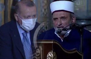 Erdoğan'ın gözlerinin içine bakarak Ayasofya'da Atatürk'e lanet okundu