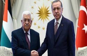 Erdoğan, Filistin Devlet Başkanı ve İsmail Henniyye ile görüştü