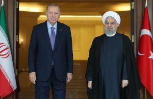 AKP'li Cumhurbaşkanı Erdoğan, Ruhani ile görüştü
