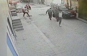 Fatih'te aralarında polisin de bulunduğu soygun girişimi