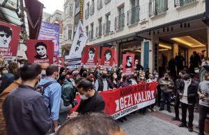 Taksim'de OHAL manzaraları: 'Zorbalık biter, Gezi kalır'