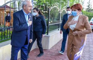 Kılıçdaroğlu ve Akşener'den sürpriz buluşma