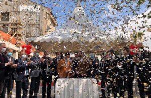 AKP'li belediyeden 'tam kapanma' öncesi lebaleb tören