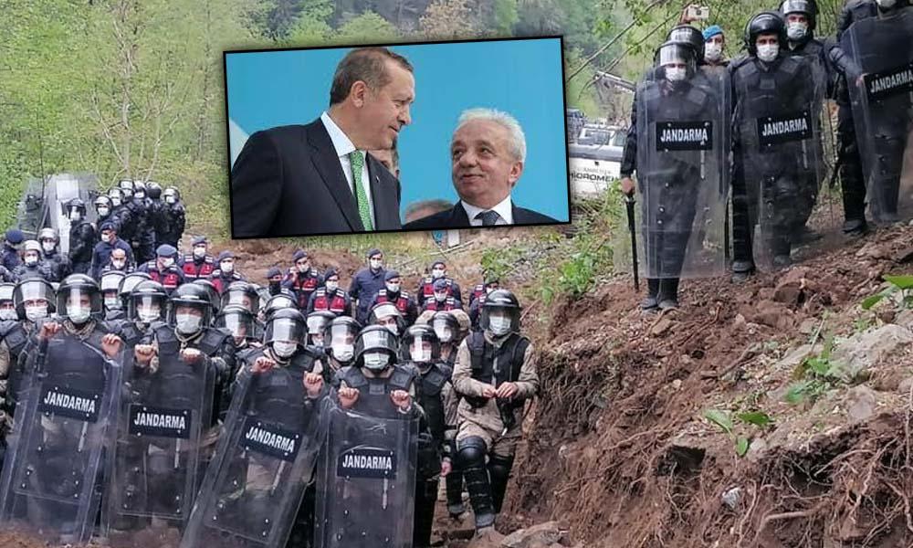 Rize'de Cengiz İnşaat'ı protesto yasağı valilik kararıyla 15 gün daha uzatıldı!