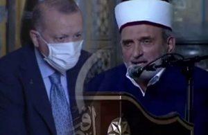 Atatürk'e lanet okuyan imama ateş püskürdü!