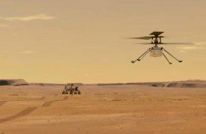 Ingenuity'nin 4'üncü Mars uçuşu 117 saniye sürdü