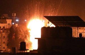 İsrail, Gazze şeridinin altyapısını vurdu