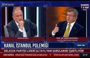 """Davutoğlu ortaya çıkardı, İmamoğlu paylaştı! İşte AKP'nin Kanal İstanbul """"oyunu"""""""