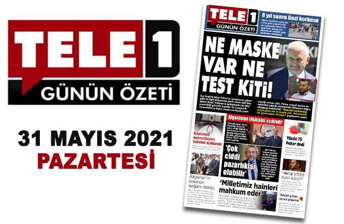 8 yıl sonra Gezi korkusu. Normalleşme kararları açıklandı. Yolsuzluğun tüm ayrıntıları. Ne maske var ne test kiti!. Yüzde 75 Peker dedi. 31 Mayıs 2021 Günün Özeti