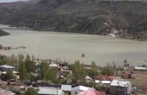 Kars'ta bir köy HES sularının altında kaldı!