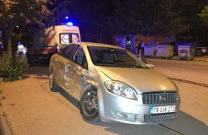 Karabük'te iki otomobil çarpıştı: 4 yaralı