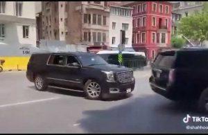 """Yurttaşın Erdoğan'ın konvoyuna tepkisi gündem oldu! """"Bak bak arabalara bak be! Vay, vay, vay…"""""""