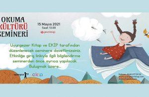 """Uyurgezer Kitap tarafından düzenlenen """"Okuma Kültürü Semineri"""" yarın başlıyor"""