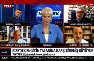 Ali Öztunç 'peşkeş belgesi'ni çıkardı -MERCEK