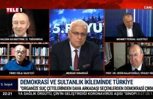 Haldun Solmaztürk: Organize suç çetesini dava arkadaşı seçenden demokrasi beklenmez- 5.BOYUT