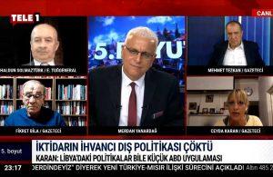Ceyda Karan: Türkiye'nin Libya'daki politikaları bile küçük ABD uygulaması – 5.BOYUT