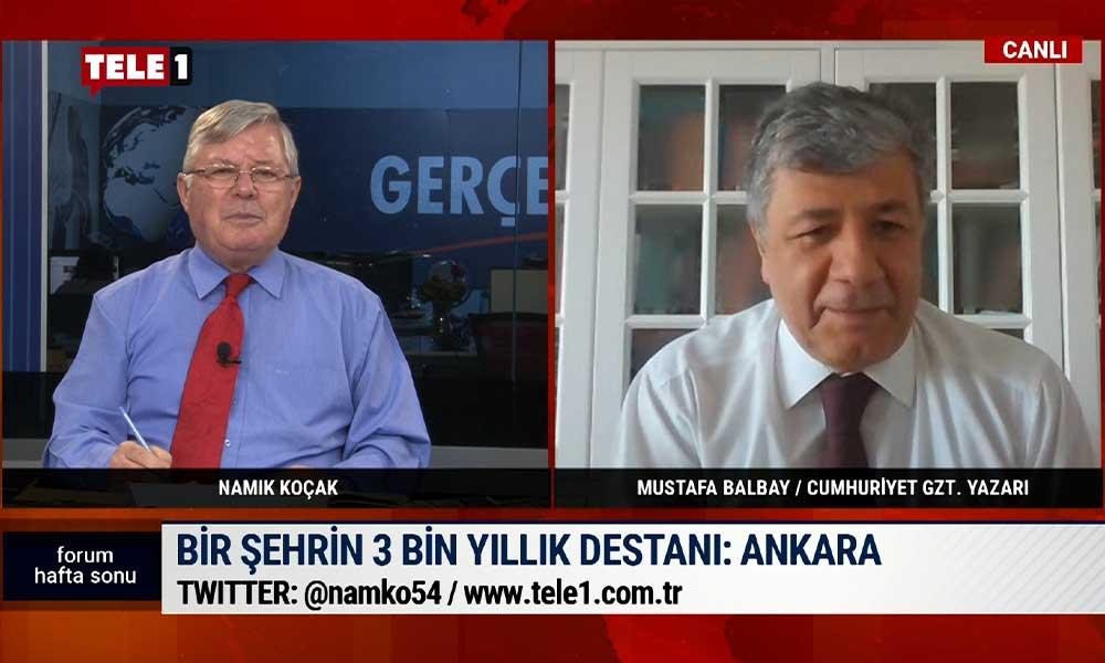 Mustafa Balbay'ın kitabında Ankara'nın taşı baş rolde.. | FORUM HAFTA SONU