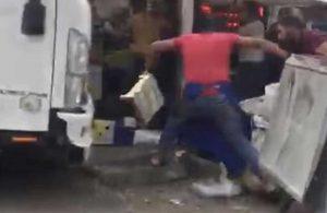 Semt pazarında yumruklar havada uçuştu! 6 yaralı, 14 gözaltı