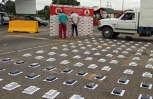 Venezuela'da peynir kaplarında uyuşturucu yakalanmış