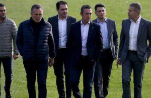 Futbolculardan, Ali Koç'a ret