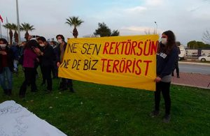 Boğaziçi Üniversitesi'yle dayanışma protestolarına katılan öğrencilere sosyal mesafe cezası