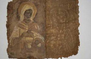 Ceylan derisine yazılmış İncil satılırken ele geçirildi