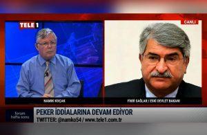Fikri Sağlar TELE1'e konuştu: Sedat Peker'in anlattıkları iddia değil ifşaat!
