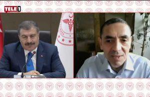 """Koca """"Vatandaşımızın sizden duyması önemli"""" diyerek sözü Prof. Dr. Şahin'e bıraktı!"""
