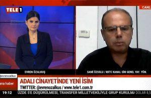 Kıbrıslı gazeteci Sami Özuslu'dan çok konuşulacak açıklama: 'Tuğla' şu an Kıbrıs'ta | TELE1 ANA HABER
