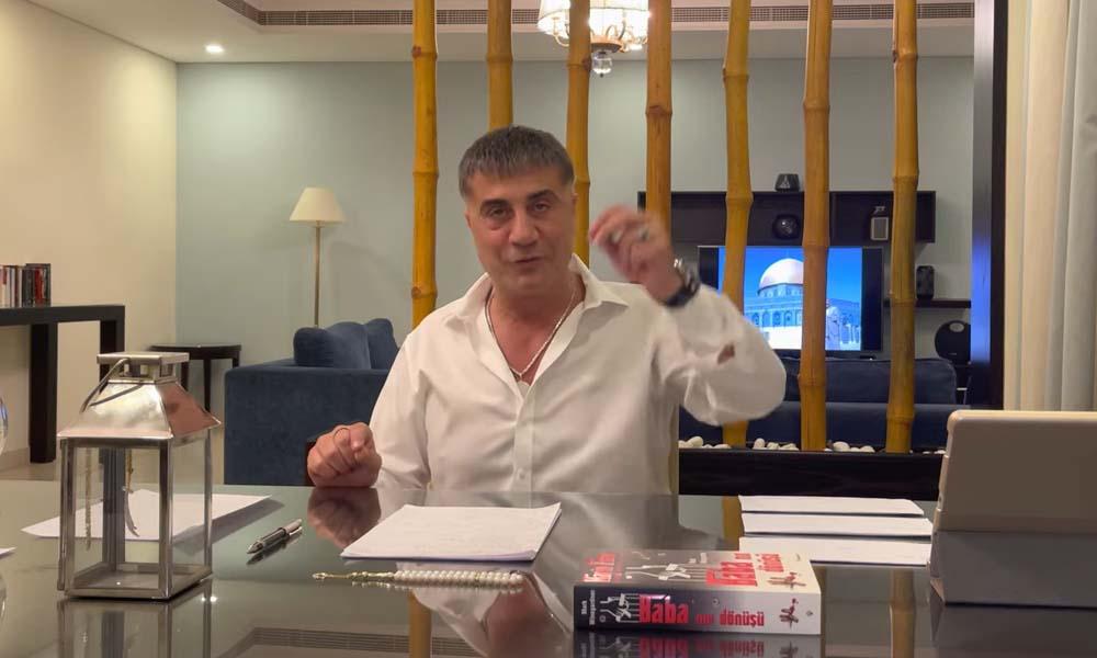 Sedat Peker'den üçüncü video: Savaş açtınız