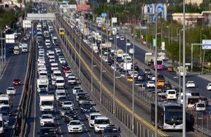 """""""Tam"""" kapanmada akşam trafiği! 5 kilometrelik kuyruk oluştu"""
