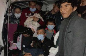 66 kaçak göçmen yakalandı