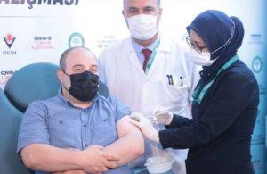 Varank, yerli aşının ikinci dozunu yaptırdı