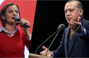 Erdoğan'dan Canan Kaftancıoğlu'na dava