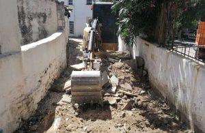 Yağmur suyu hattı çalışmaları sokak sokak devam ediyor