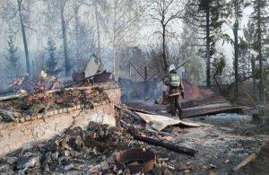 Kazakistan'da çıkan orman yangını kente sıçradı: 1 ölü, 2 yaralı