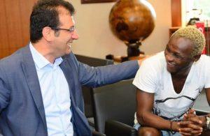 Trabzonspor'un eski yıldızı Yattara: İmamoğlu'nu çok seviyorum