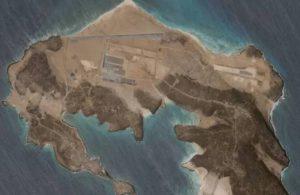 Yemen'deki bir volkanik adada 'gizemli' üs tespit edildi