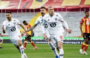Lille, Burak Yılmaz'ın golleriyle Lens'i 3-0 devirdi