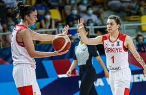 Kadın Basketbol Milli Takımı Avrupa'ya veda etti