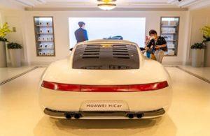 Huawei , sürücüsüz otomobil işine el attı