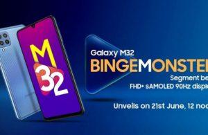 Samsung Galaxy M32  21 Haziran'da geliyor