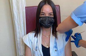 Aşısını yaptırdı! Bebeği antikorlu doğacak