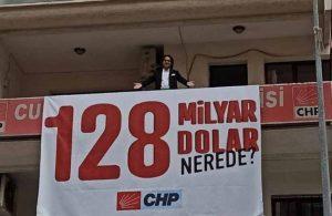 '128 Milyar Dolar Nerede?' pankartına verilen ceza kaldırıldı