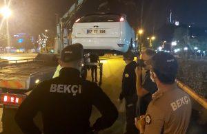 Polislere beddua edince gözaltına alındı